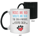 Dog Is My Favorite My - Christmas Gift For Couples