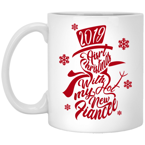 Best Christmas Gifts For Fiancee Female 2019 - Snowflakes Mug - Valentine's Day Gift