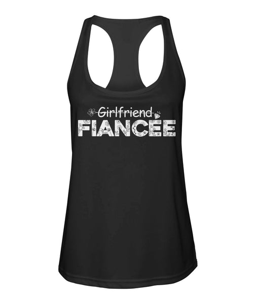 Fiancee Female Romantic Gift For Her- Girlfriend Fiancée Tank Top - Valentine's Day Gift