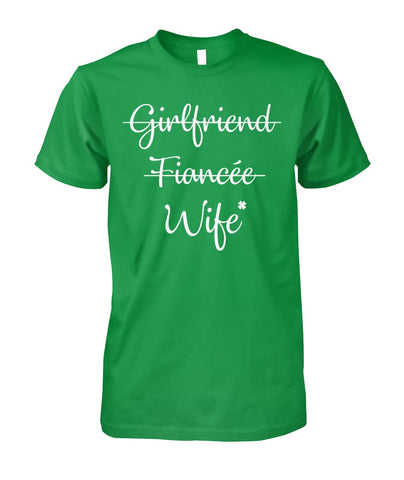 Girlfriend Fiancée Wife Shirt - Christmas Gift For Couples