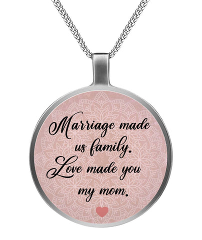 Marriage Necklace For Mother-In-Law - Christmas Gift For Couples