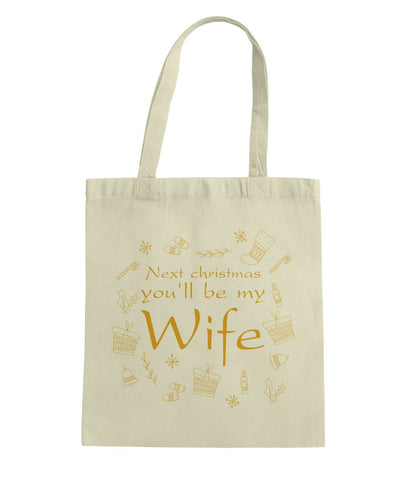 Gift For Fiancee Tote Bag - Magic Proposal
