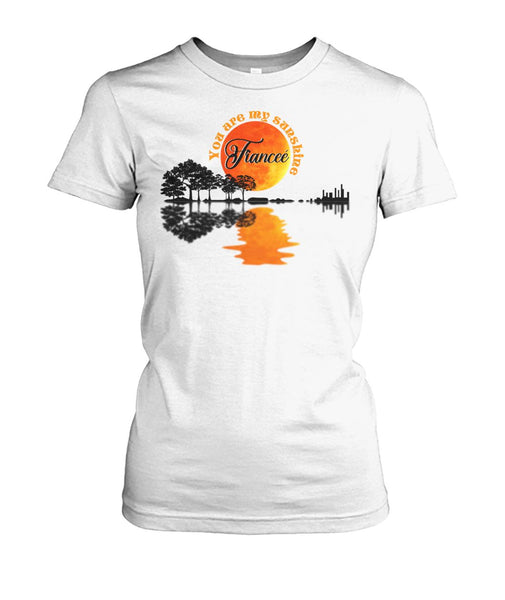 Fiancee Shirt - Guitar Sun - Christmas Gift For Couples