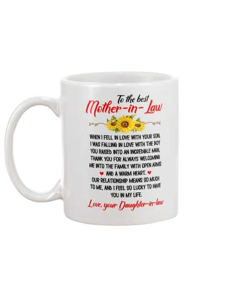 To The Best Mother In Law - Christmas Gift For Couples