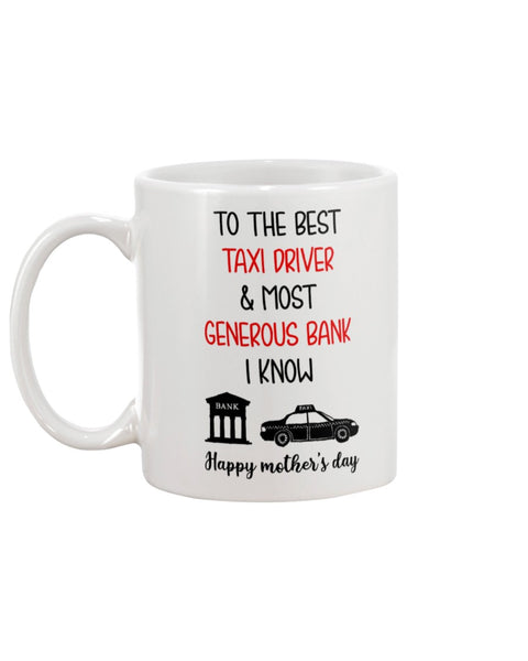 Taxi Driver Generous Bank - Christmas Gift For Couples