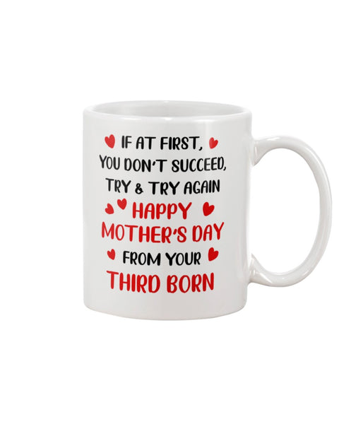 Try Again From Third Born - Christmas Gift For Couples