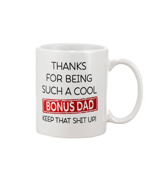 Such A Cool Bonus Dad - Christmas Gift For Couples