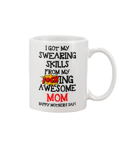 Swearing Skills From Awesome Mom - Christmas Gift For Couples