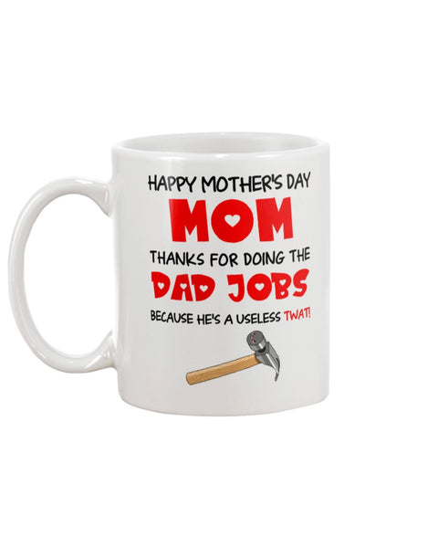 Useless Twat Dad - Christmas Gift For Couples