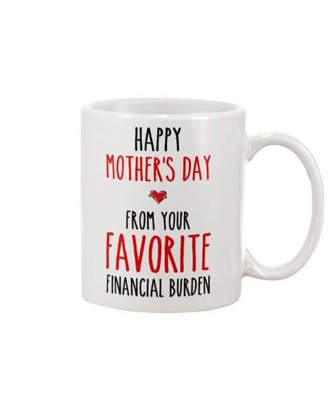 Favorite Financial Burden - Christmas Gift For Couples