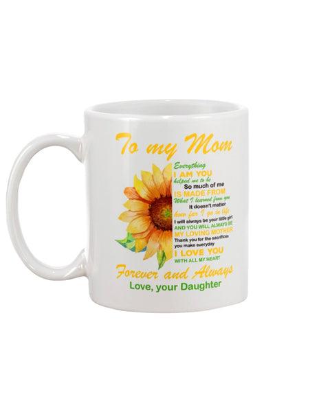 Forever And Always Mom - Christmas Gift For Couples