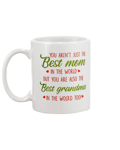 Best Mom And Grandma In The World - Christmas Gift For Couples