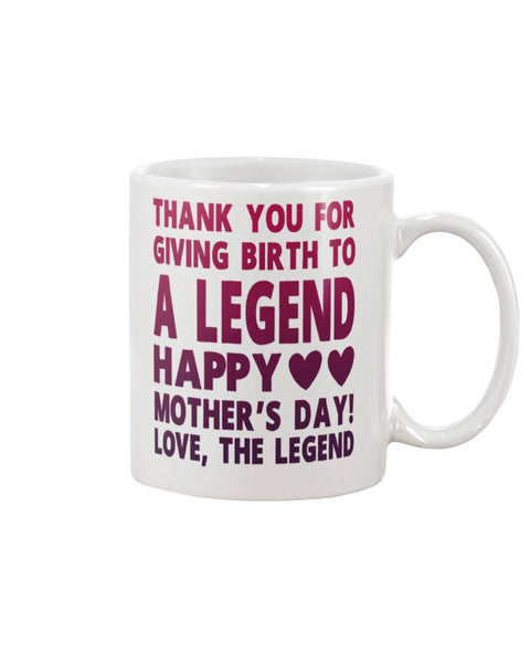 Giving Birth To A Legend - Christmas Gift For Couples