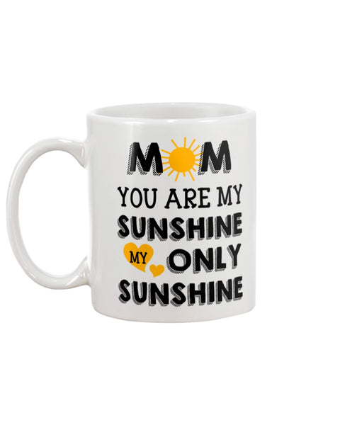 Mom Sunshine Only - Christmas Gift For Couples