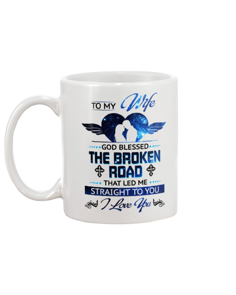 Broken Road - Christmas Gift For Couples