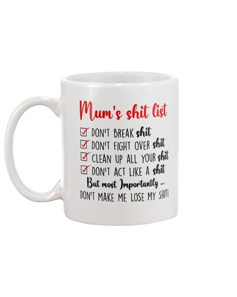 Mom List - Christmas Gift For Couples