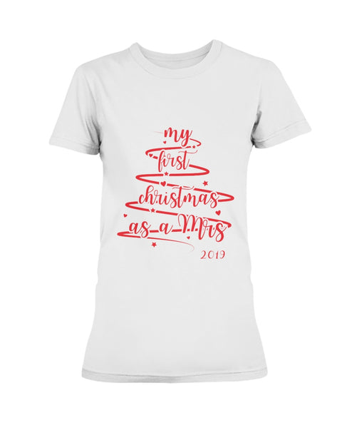 MY FIRST CHRISTMAS SHIRT - Christmas Gift For Couples