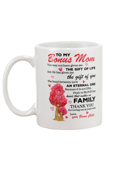 The Gift Of Bonus Mom - Christmas Gift For Couples