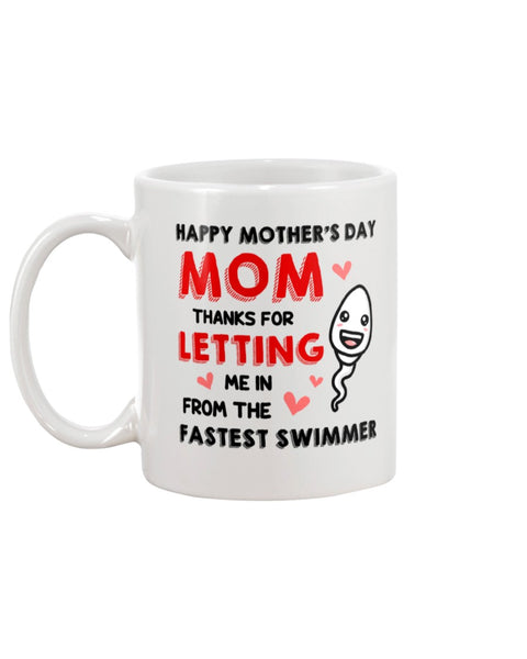 Fastest Swimmer - Christmas Gift For Couples