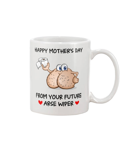 Mom's Future Arse Wiper - Christmas Gift For Couples