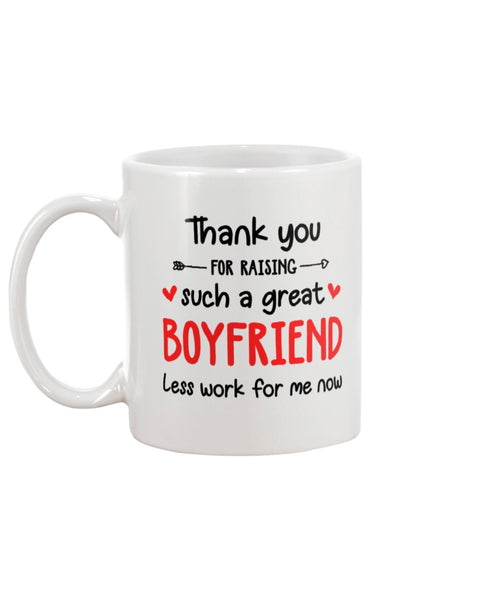 Raising Such A Great Boyfriend - Christmas Gift For Couples