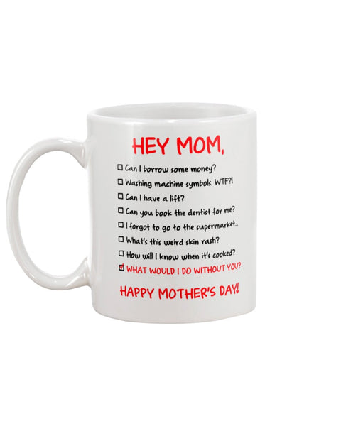 What Do Without Mom - Christmas Gift For Couples