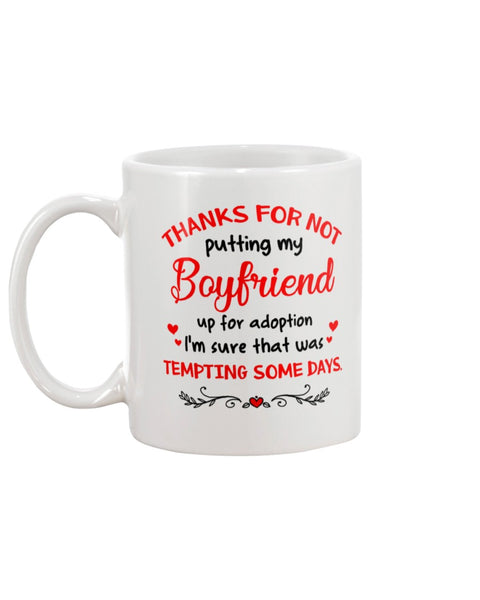 Not Putting My Boyfriend Up For Adoption - Christmas Gift For Couples