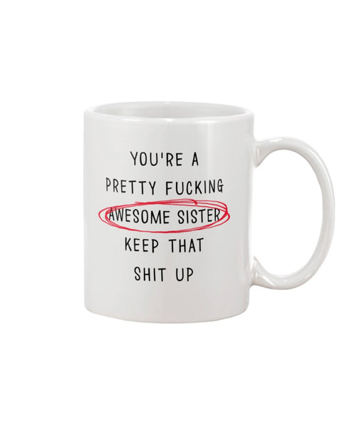 Awesome Sister - Christmas Gift For Couples