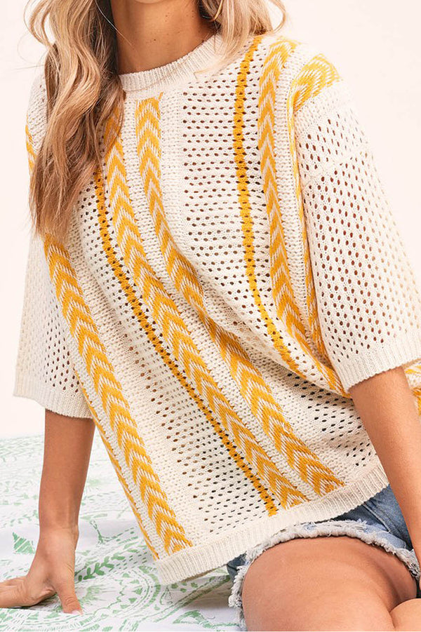 Sunny days light sweater