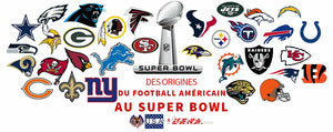 Des origines du Football Américain au Superbowl