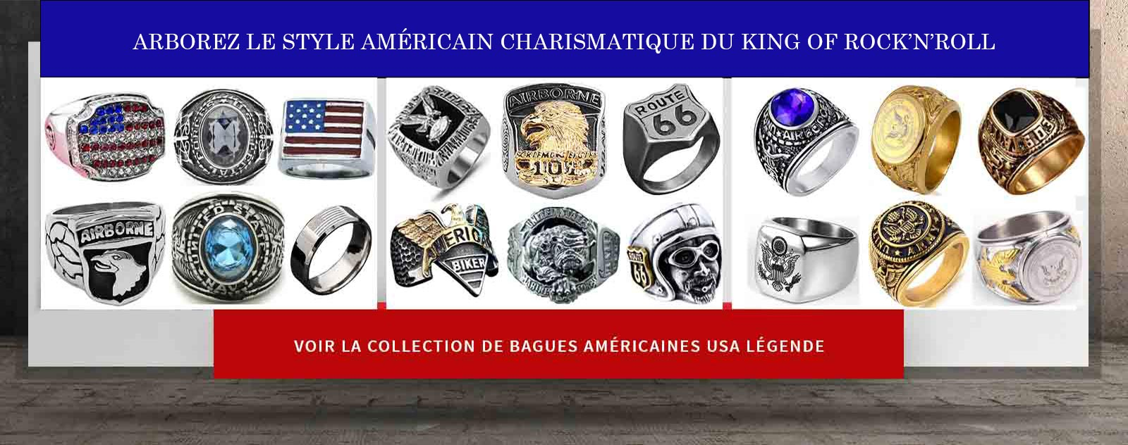 banniere vers collection bagues americaines
