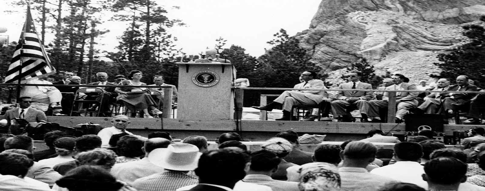 discours president coolidge mont rushmore