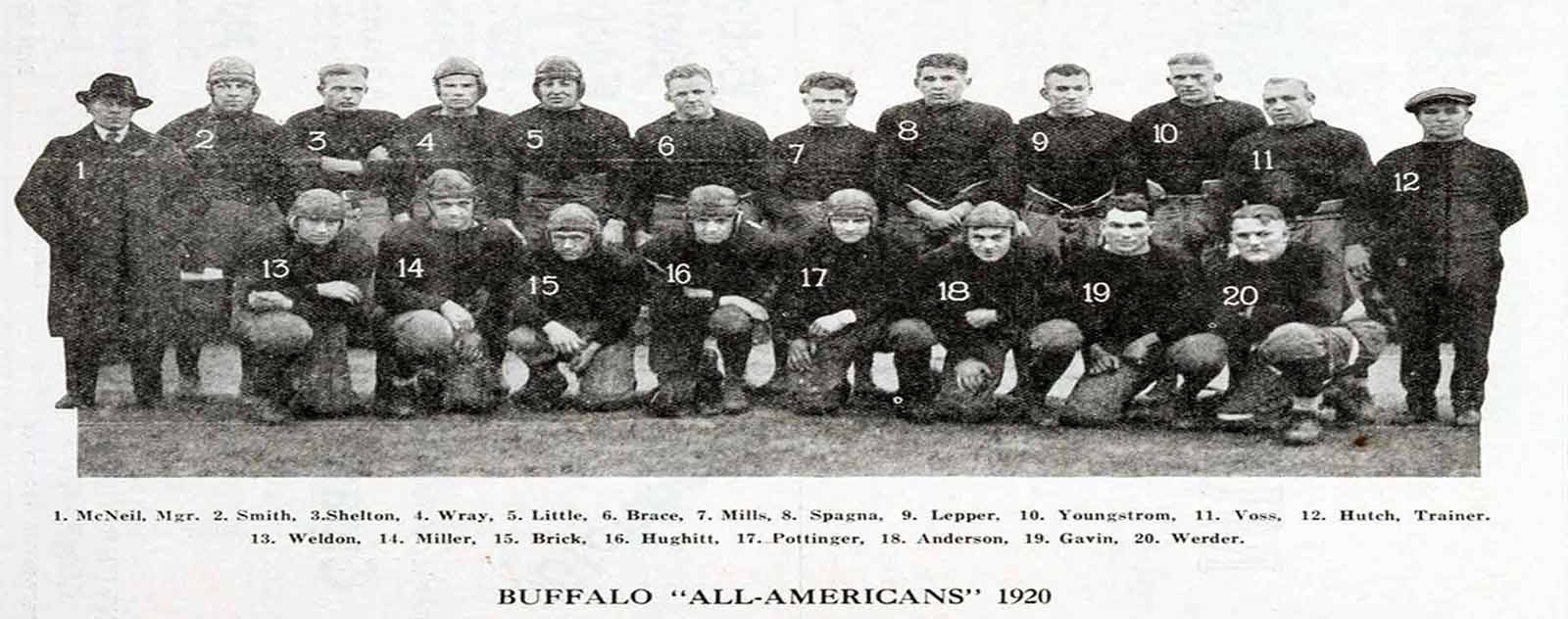 equipe buffalo all americans