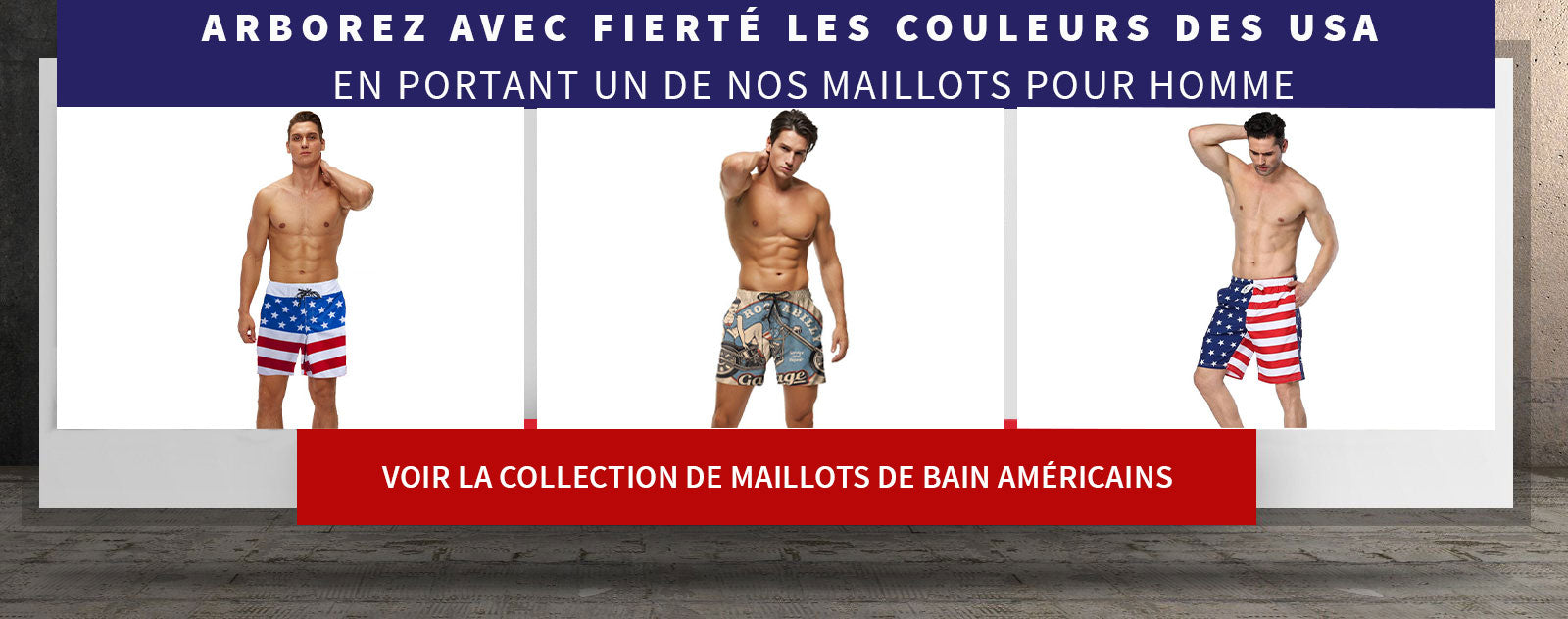 maillots americains homme