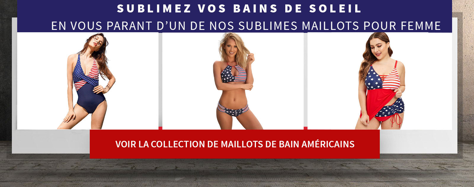maillots usa femme