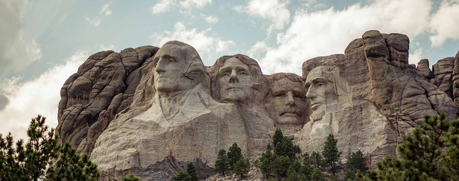 sculpture presidents mont rushmore