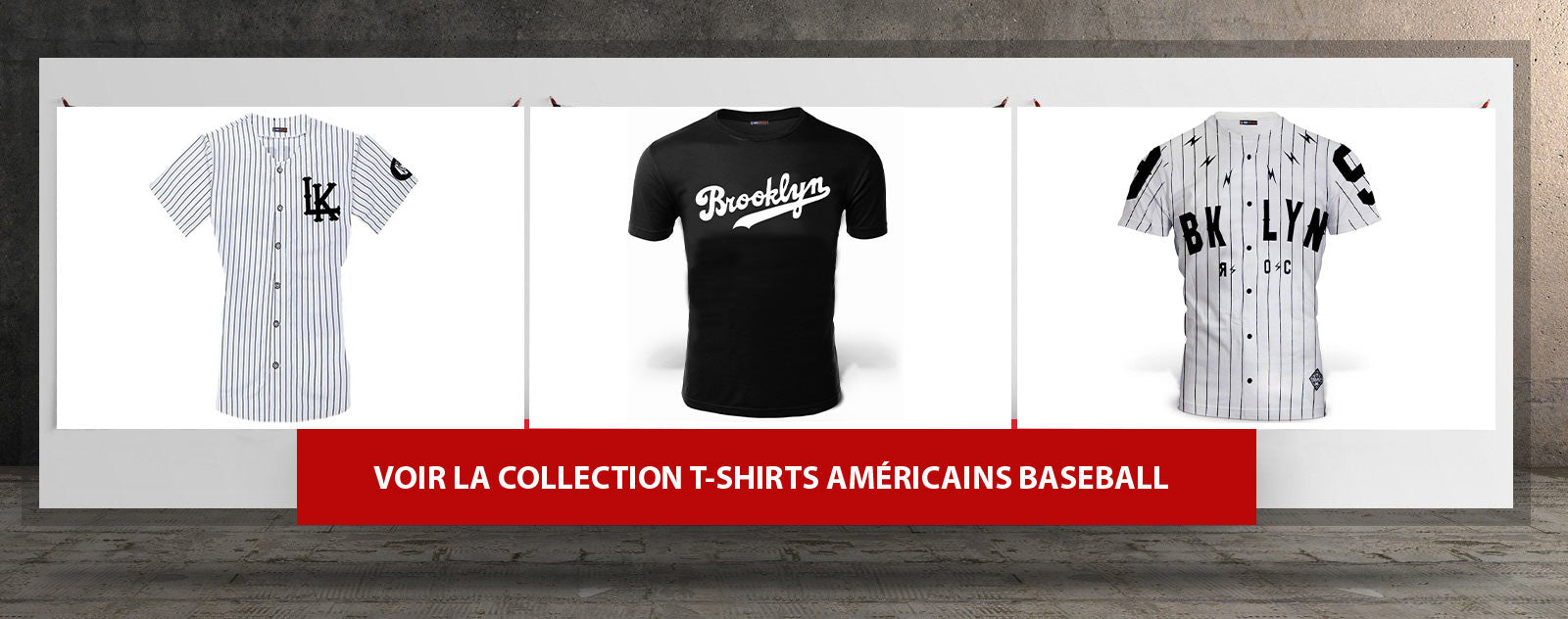 t shirts americains baseball