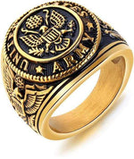 bague americaine homme