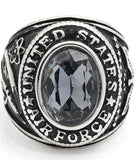 bague armee air americaine