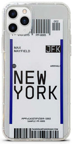 coque iphone billet avion new york