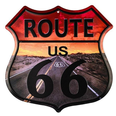 decoration route 66