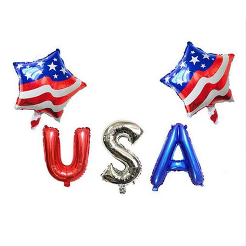 decoration anniversaire theme usa