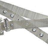 details ceinture argent style cowgirl