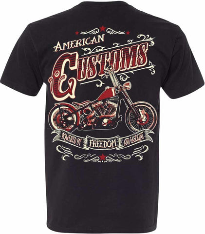 dos t shirt moto chopper usa