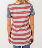 dos t shirt usa camo
