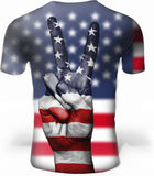 dos top homme drapeau us