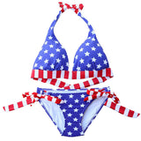 maillot femme look americain