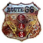 pancarte route 66 gas