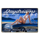plaque decoration hot rides pin up