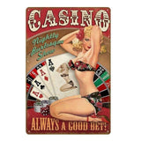 plaque pin up roulette- casino